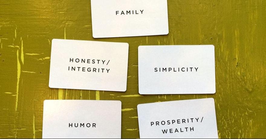 ערכים עסקיים ואישיים