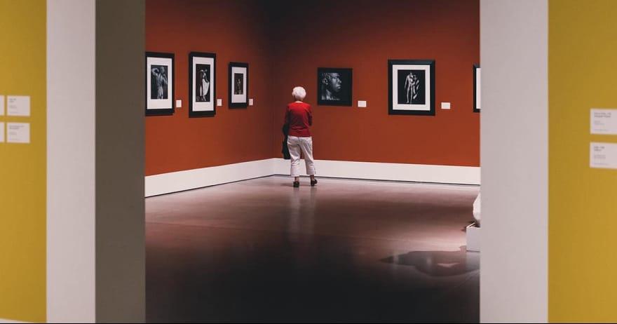 גלריית אמנות (אילוסטרציה)