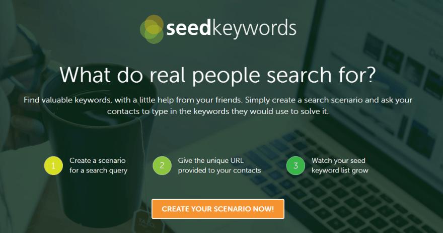 מילות המפתח המושלמות עם seedkeywords