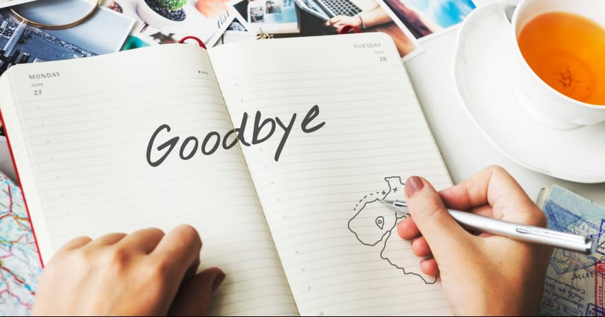 מחברת ועליה כתוב להתראות
