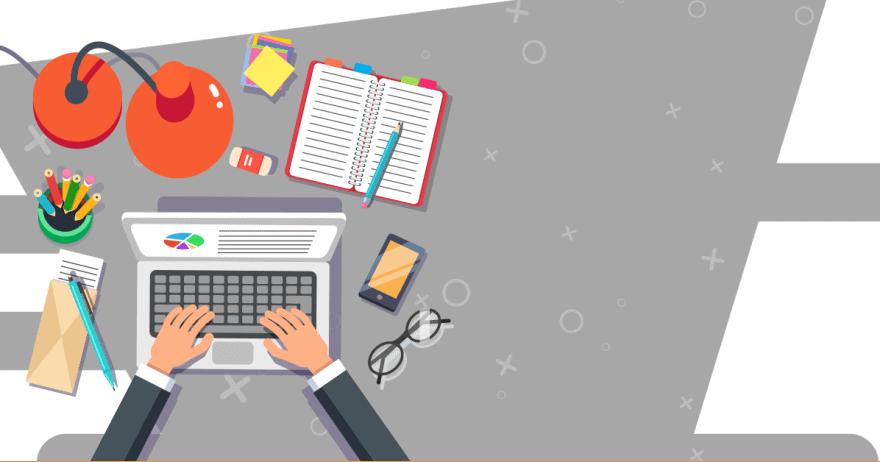מדריך עסקי - אילוסטרציה של משרד